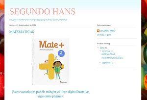 Blog de segundo de primaria