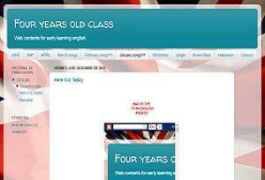 Blog infantil cuatro años